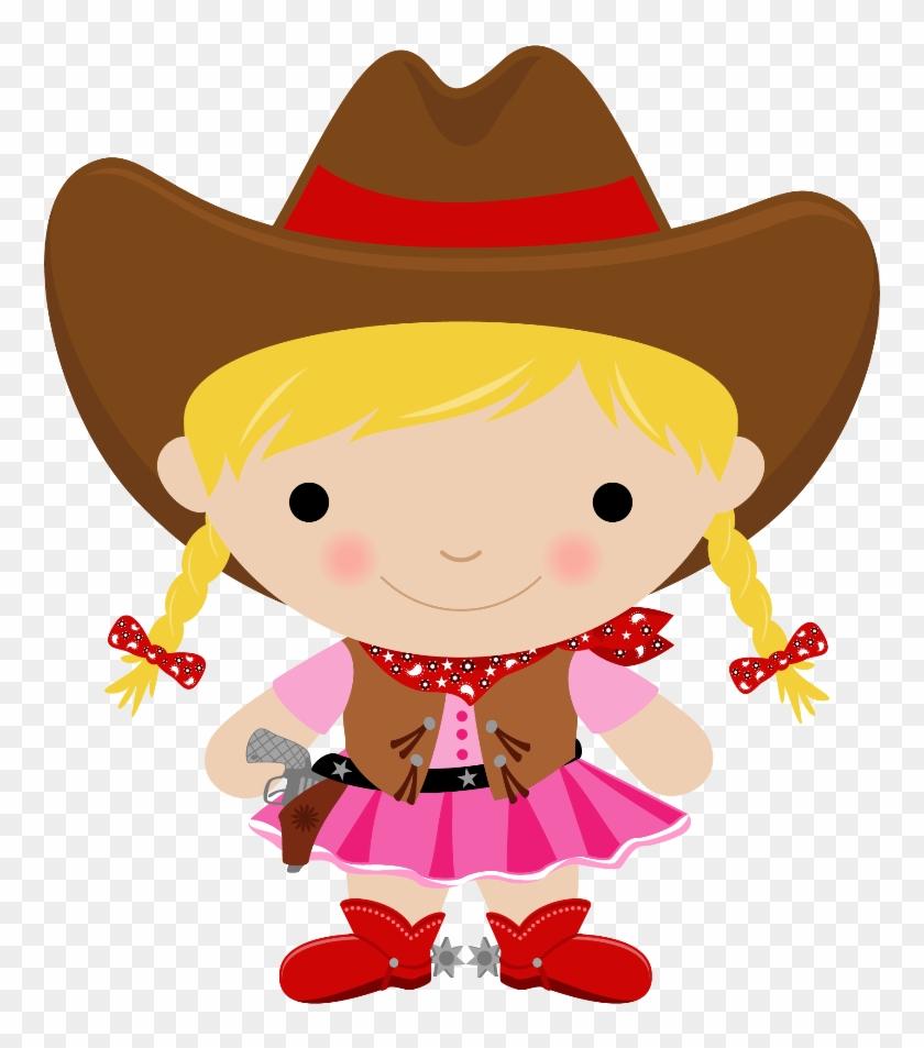 Cowboy E Cowgirl - Cowgirl Clipart #1080906