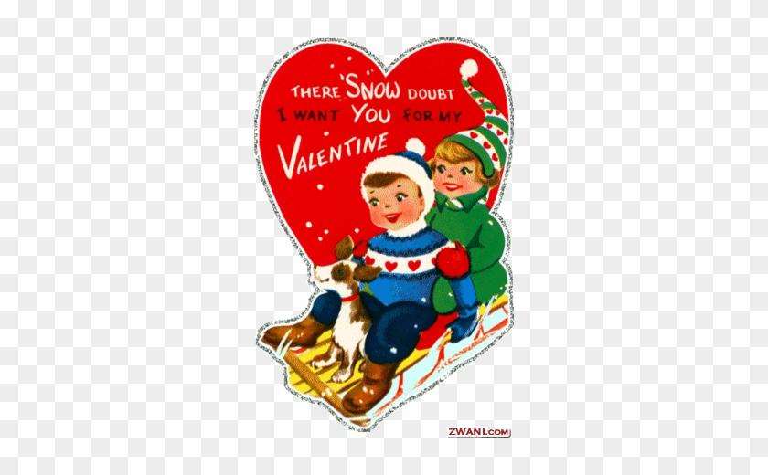 Vintage Happy Valentines Day #1080914