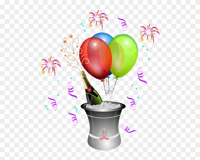 We Re Celebrating Because It S The 1 Year Anniversary Clip Art Champagne Bottle Free Transparent Png Clipart Images Download