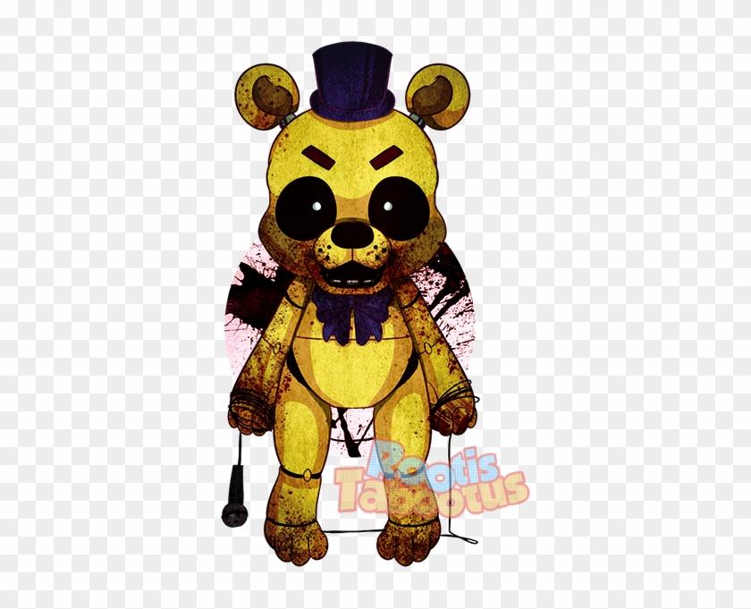Fnaf Clipart Golden Freddy - Fnaf Cute Golden Freddy Fan Art - Free