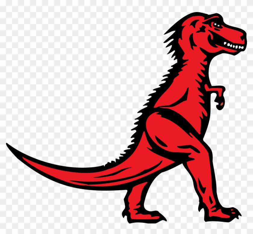 Red T Rex Logo Vector And Clip Art Inspiration U2022