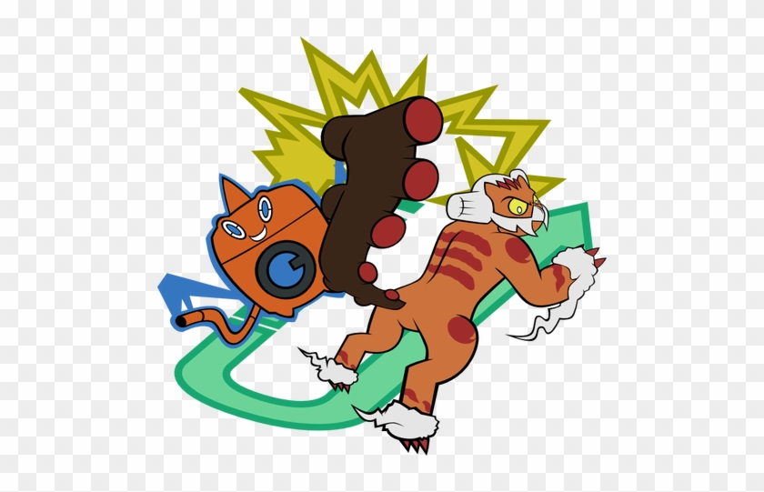 For Example, An Effective Voltturn Knock Off Core Can - Volt Turn Pokemon #1082444