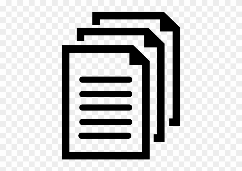 Documents Symbol Free Icon Documents Black And White Clipart Free Transparent Png Clipart Images Download