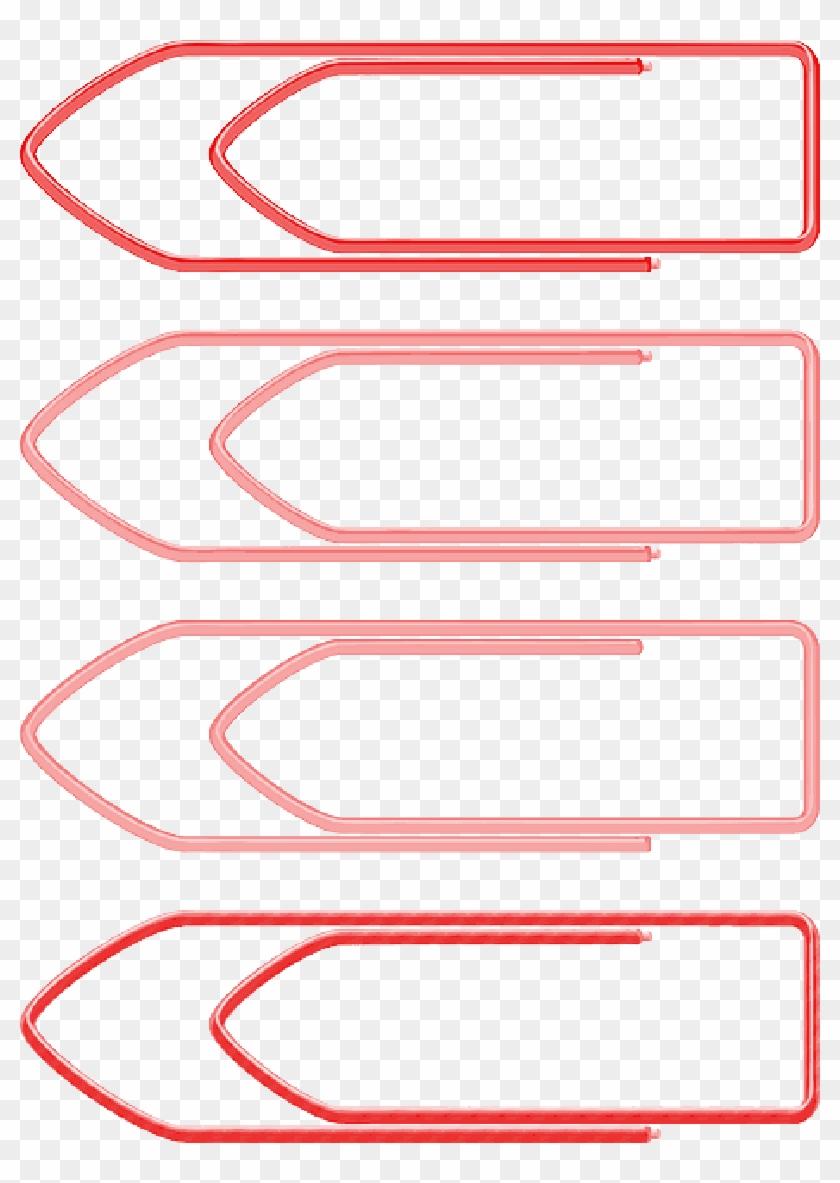 Education, Paper, Paperclip, Office, Pin, Clips - Clip De Papel Png #1082626