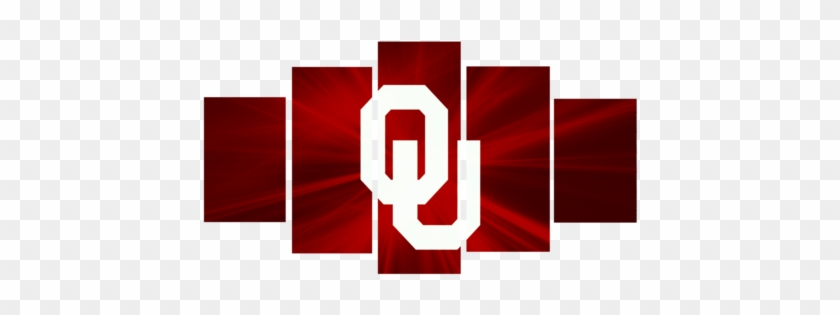 Hd Printed Oklahoma Sooner Logo 5 Pieces Canvas Best - Paintings For Bedroom Walls #1085319