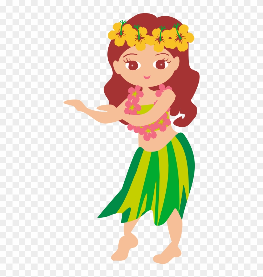 Hawaii Hula Dance Clip Art フラガール イラスト Free Transparent Png Clipart Images Download