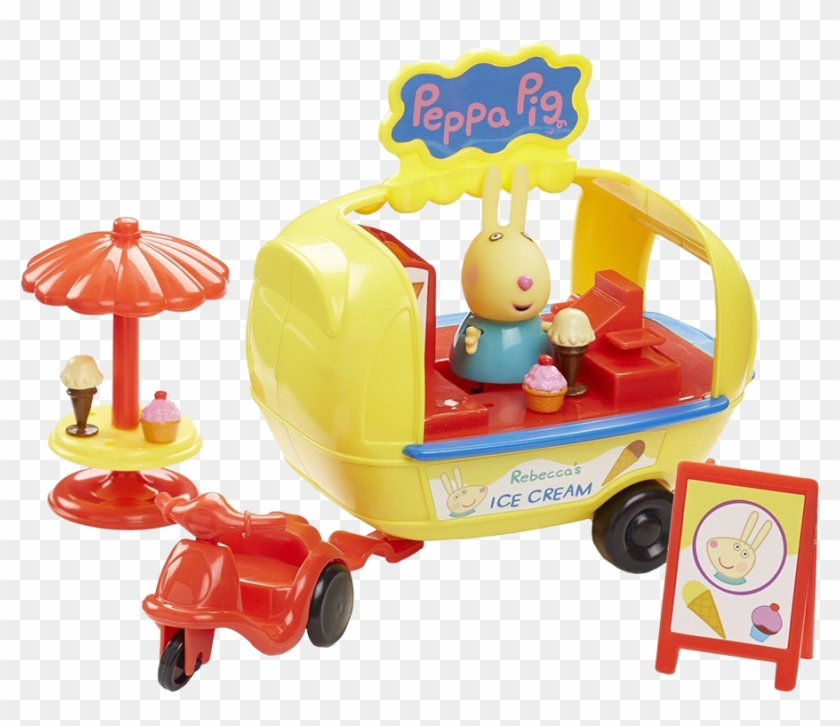 Holiday Time Ice Cream Van Playset - Peppa Pig Holiday Ice Cream Van #1086363
