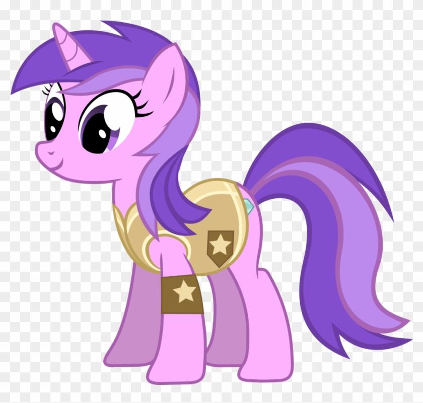 Sparkler Leader Of Animal Team - My Little Pony Amethyst Star #1086965