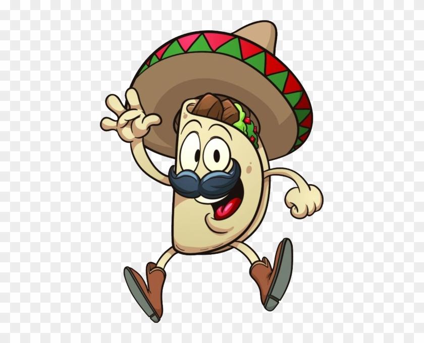Taco Mexican Cuisine Cartoon Clip Art Taco Cartoon Free Transparent Png Clipart Images Download