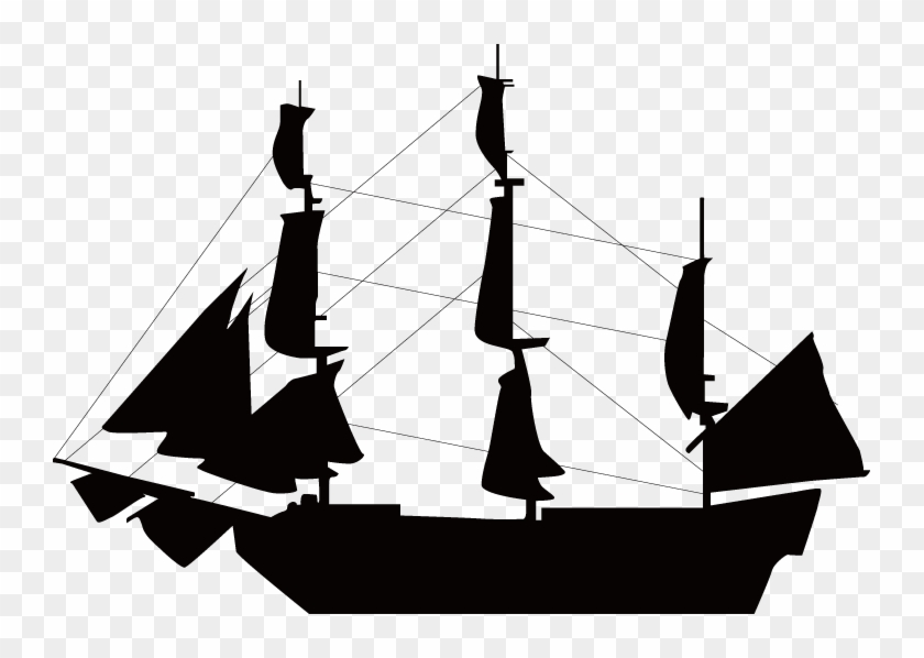 sailboat ship silhouette clip art slave ship silhouette free