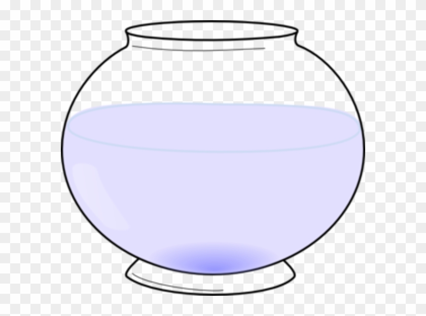 Cartoon Of A Large Fish In A Small Fish Bowl Fish Tank Clipart