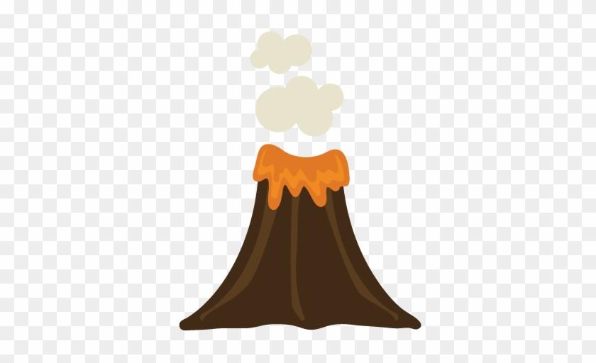 Volcano Clipart Transparent - Volcano Cute #1090062