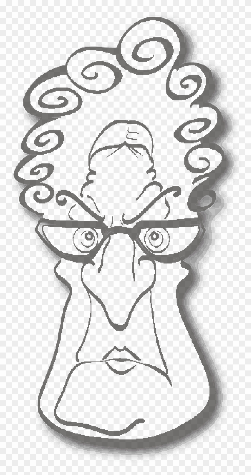 Old, Lady, Woman, Angry, Cartoon, Glasses, Glass - Funny Adult ...