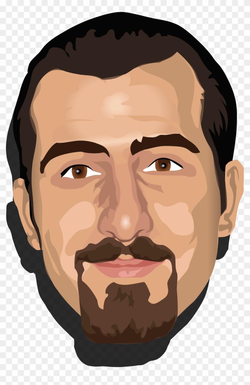 Yükle Face Template - Avatar Face Man #1090796