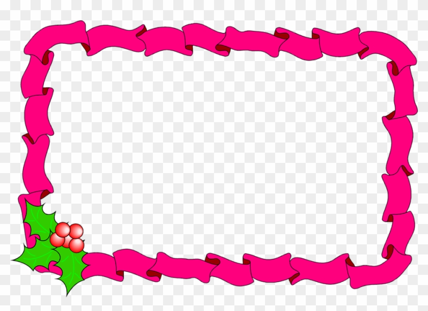 Jelly Bean Clipart Frame - Christmas Borders And Frames - Free ...