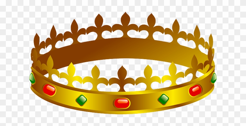 King, Queen, Recreation, Gold, Party, Crown, Festive - Prince Crown Clip Art #1091193