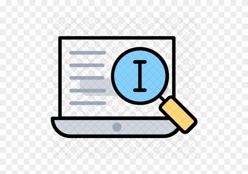 Search Process Icon - Information Search Process #1091731