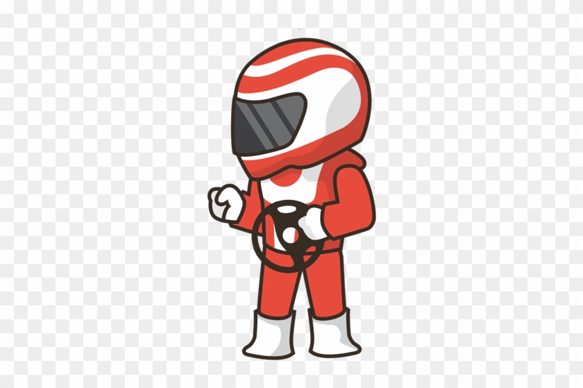 Pin Go Kart Clip Art - Cartoon #1092342