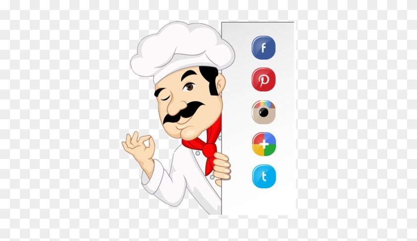 Chef - Chefe De Cozinha Em Desenho #1092859
