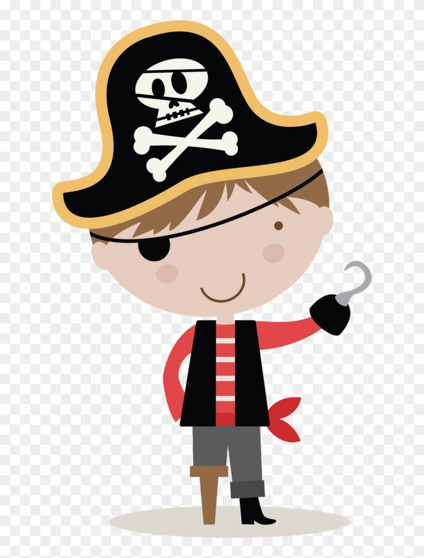 Colorful Kid Pirate Pictures Vector Illustration Of - Transparent Background Clipart Pirate #1093779