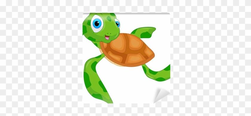 Cute Sea Turtle Cartoon Vector Download Sea Turtle Free