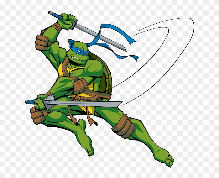 Leonardo Ninja Turtle Cartoon Teenage Mutant Ninja Turtles