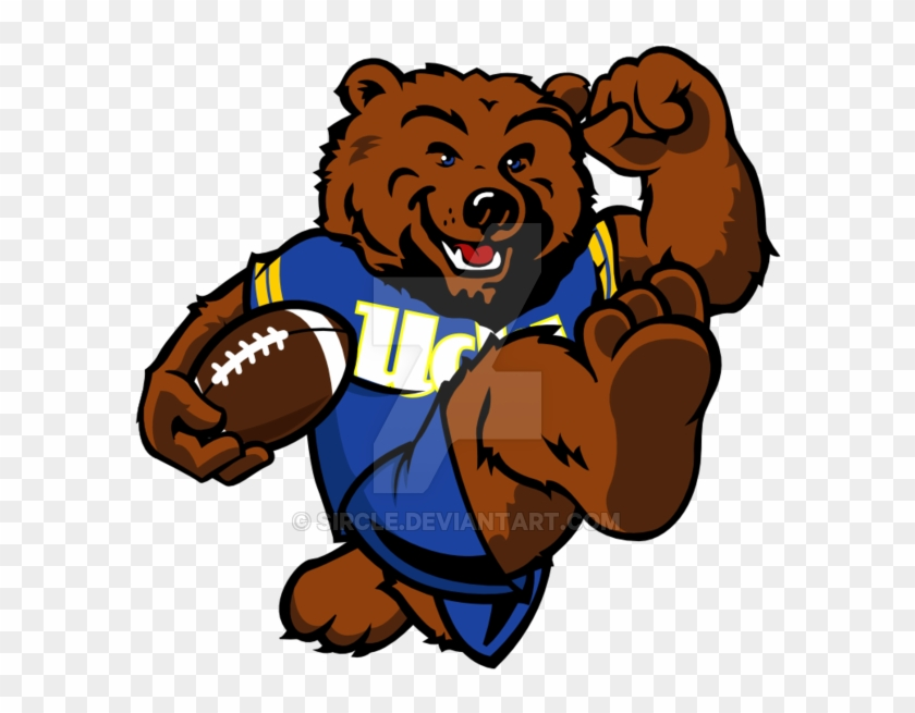28 collection of ucla mascot drawing university of california los