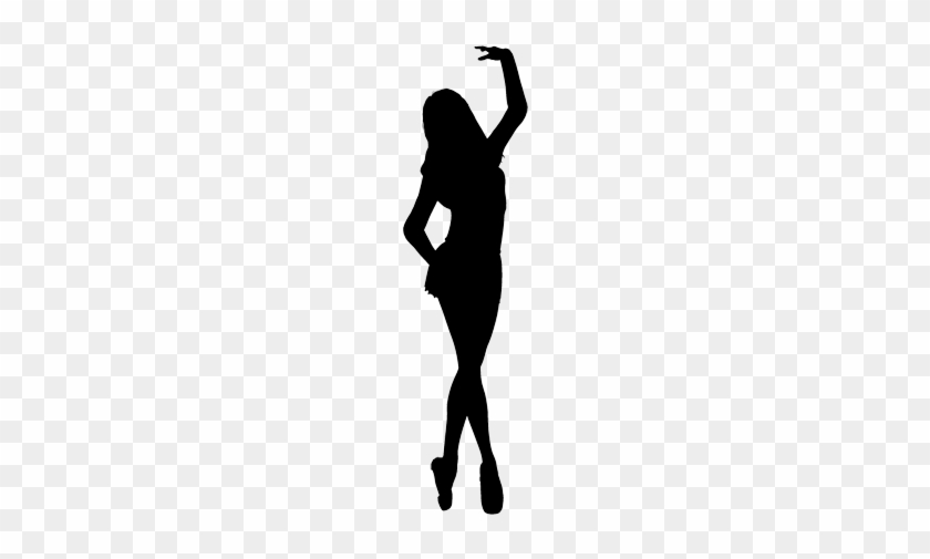 Dancer Performing A Pirouette - Musical Theater Dancer Silhouette #1094397