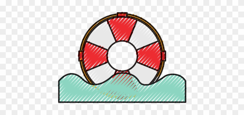 db60ae99c213 Float Lifeguard Isolated Icon - Vector Graphics - Free Transparent ...