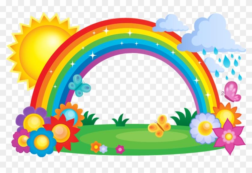 Rainbow Cloud Clip Art - Horse & Pony Magical Unicorns And Rainbows Light #1095686