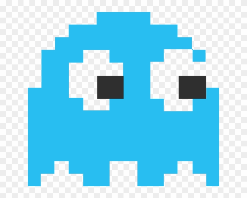 Clip Art Pac Man Free - Pacman Ghost Png - Free Transparent PNG