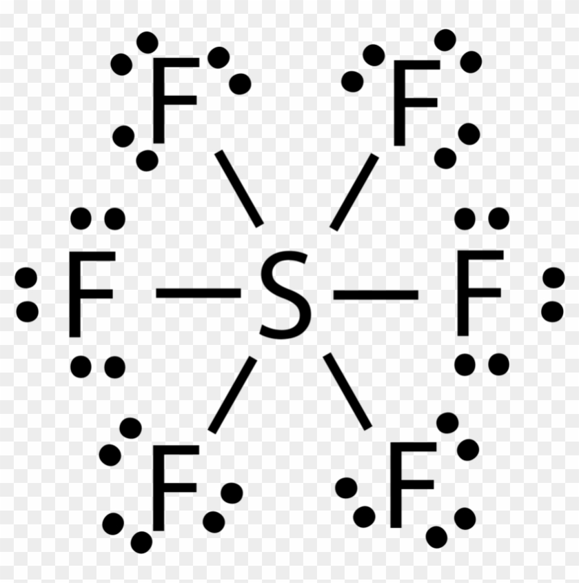 Drawn Molecule Sf6 - Sf6 Lewis Dot Structure - Free Transparent ...