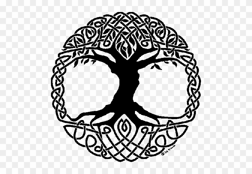 Library Of All Species On Earth That Can Be Used To - Celtic Tree Of Life Symbol #1096673