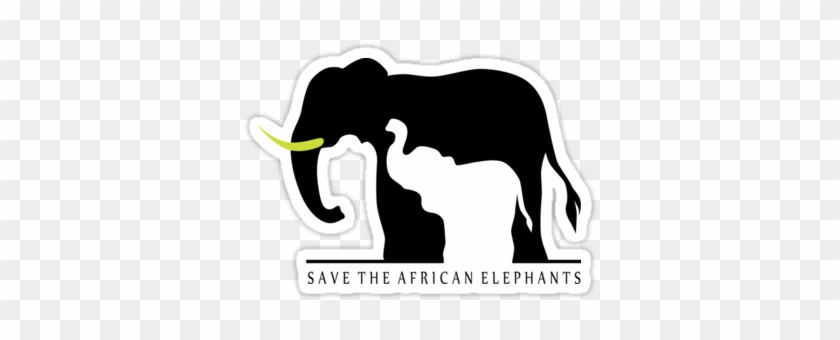 Save The African Elephants Sticker - Elephant Iphone X Hard Case #1096680