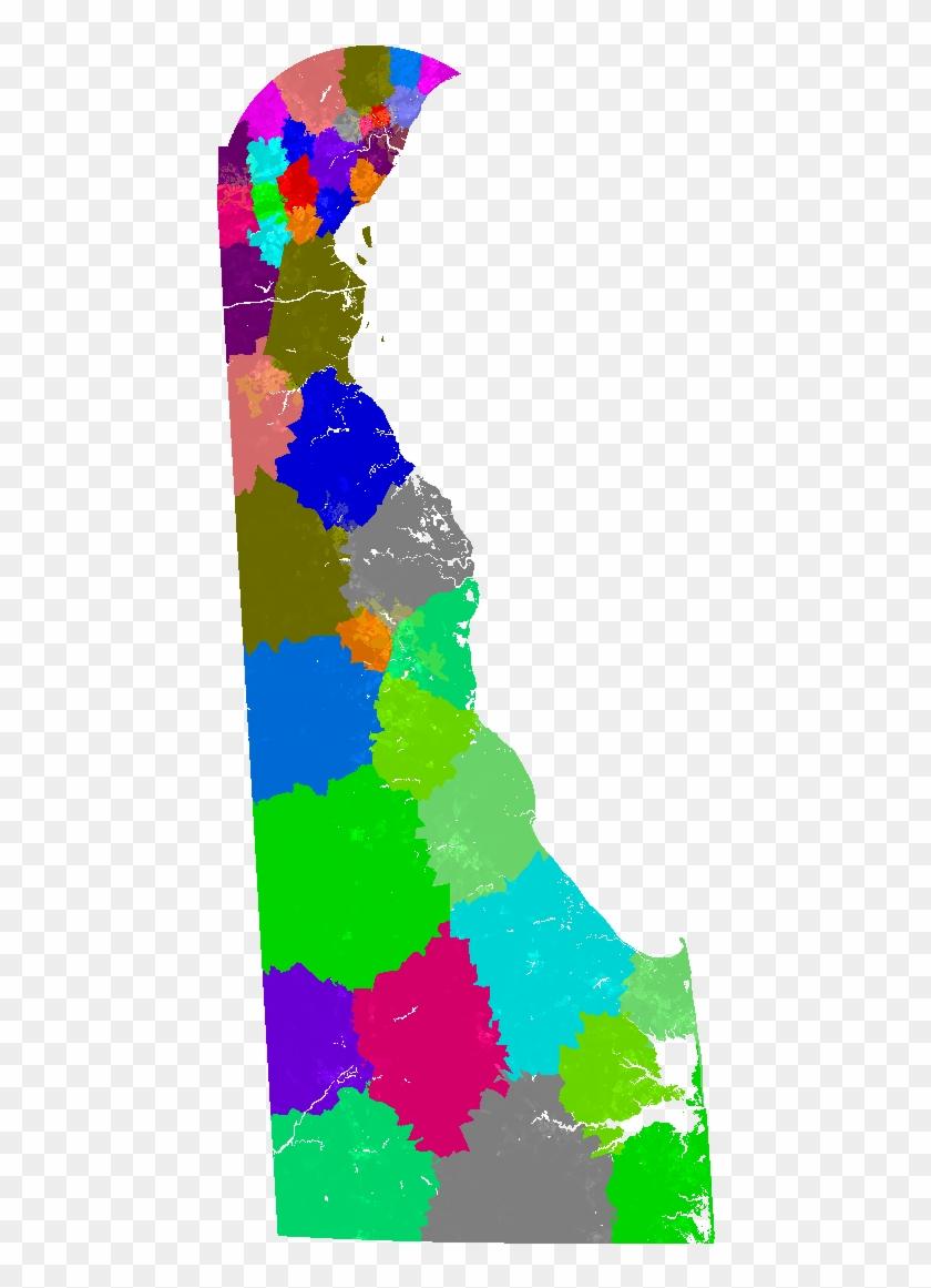 Delaware House Of Representatives Congressional District - Delaware Legislative District Maps #1096986