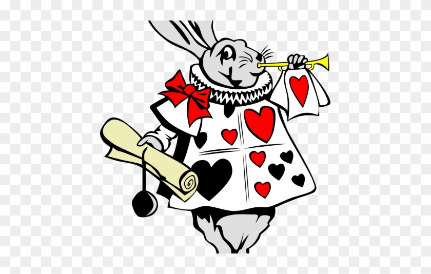 White Rabbit Mad Hatter Tea Party Clip Art Free Transparent Png Clipart Images Download