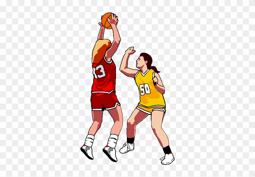 Basketball Clip Art Pg - Girls Basketball Clip Art #1098080