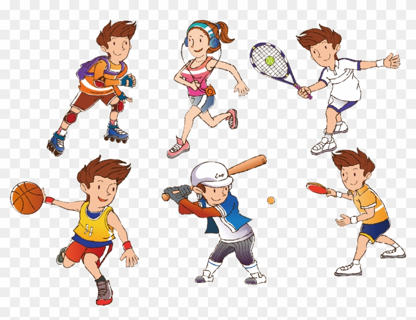 free sports clipart images - 840×646