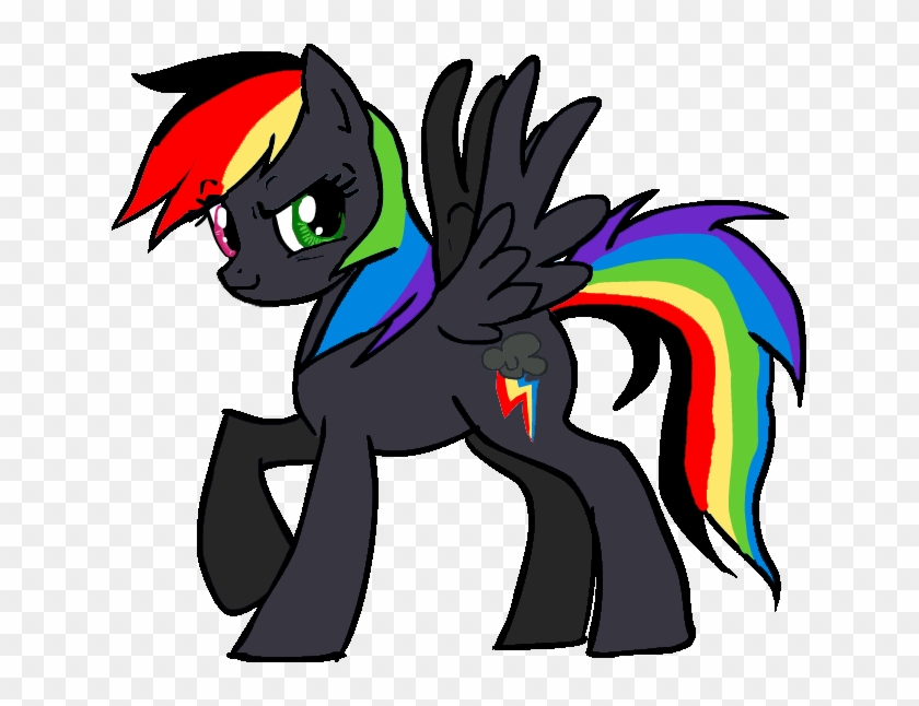 post black my little pony name free transparent png clipart