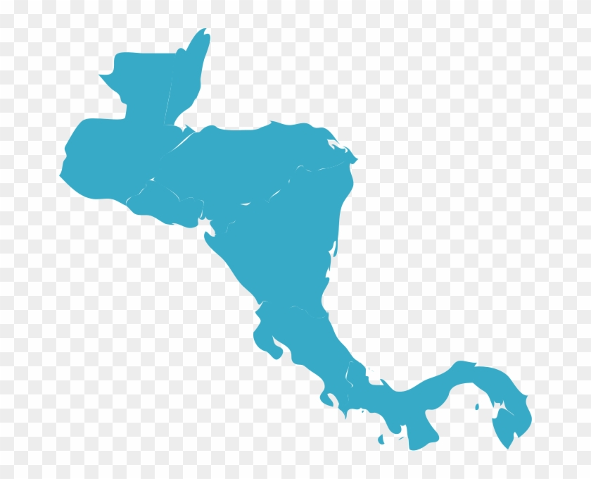 America - Central America Map Png - Free Transparent PNG Clipart ...