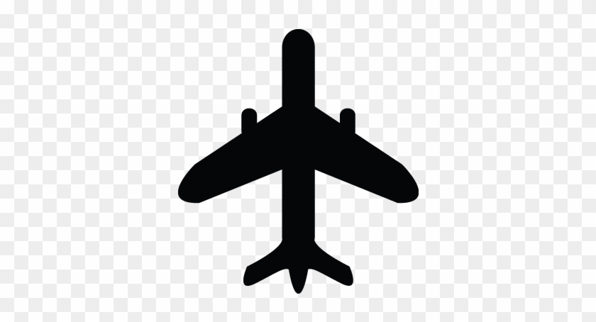 Aeroplane Clipart Black And White Airoplan Airbus Fly - Air Plane Clip Art