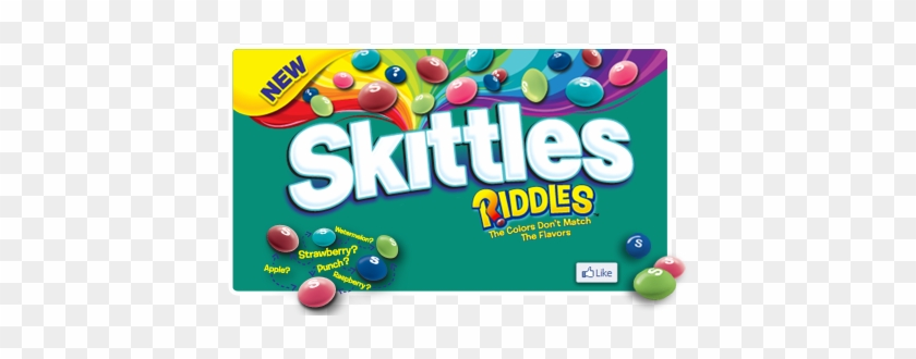 Skittles - Skittles Riddles Bite Size Candies 14 Oz. Bag #1099235
