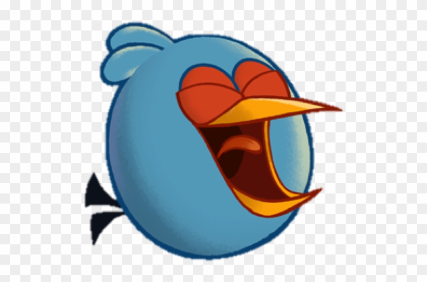 Laughing Blue2 Angry Birds Toons The Blues Free Transparent Png Clipart Images Download