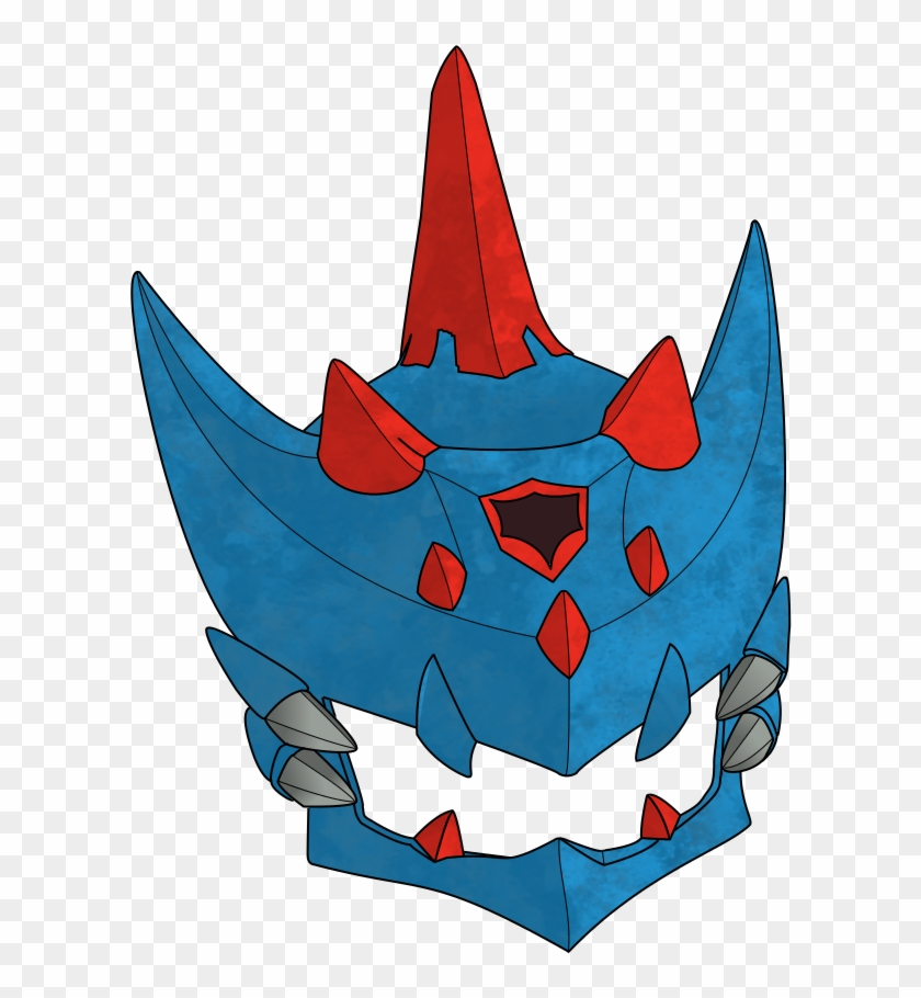 Monster Hunter Lagiacrus Armor Head By Darkewne Monster Hunter Blue Armor Free Transparent Png Clipart Images Download
