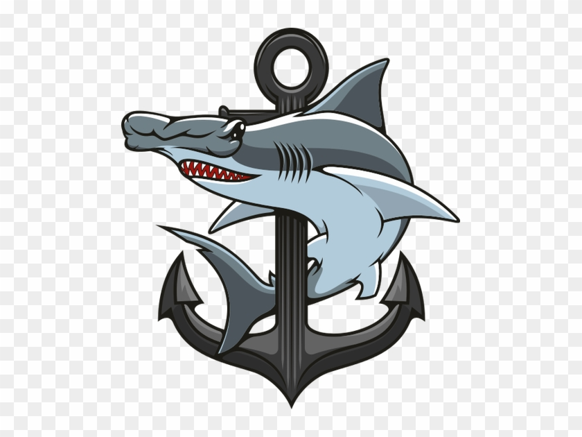 Hammerhead Clipart Hammerhead Shark - Cartoon Hammerhead Shark Icon #1099534
