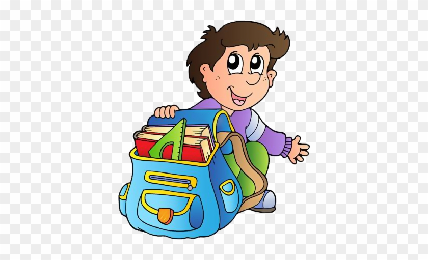 Gify Nena - Škola Str - - My School Bag Cartoon #1100593