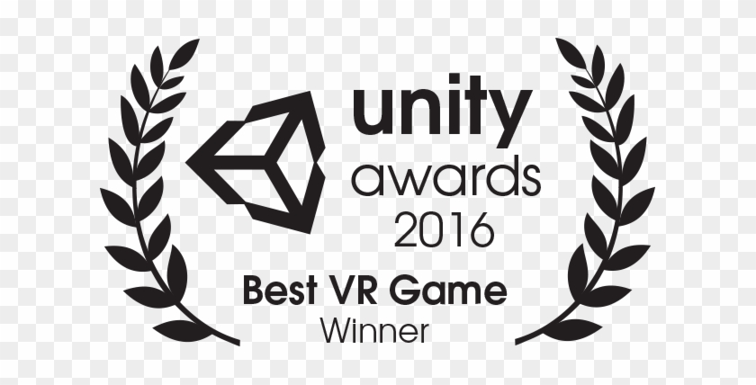 Unity Awards Best Vr Game - Unity 3d - Free Transparent PNG Clipart