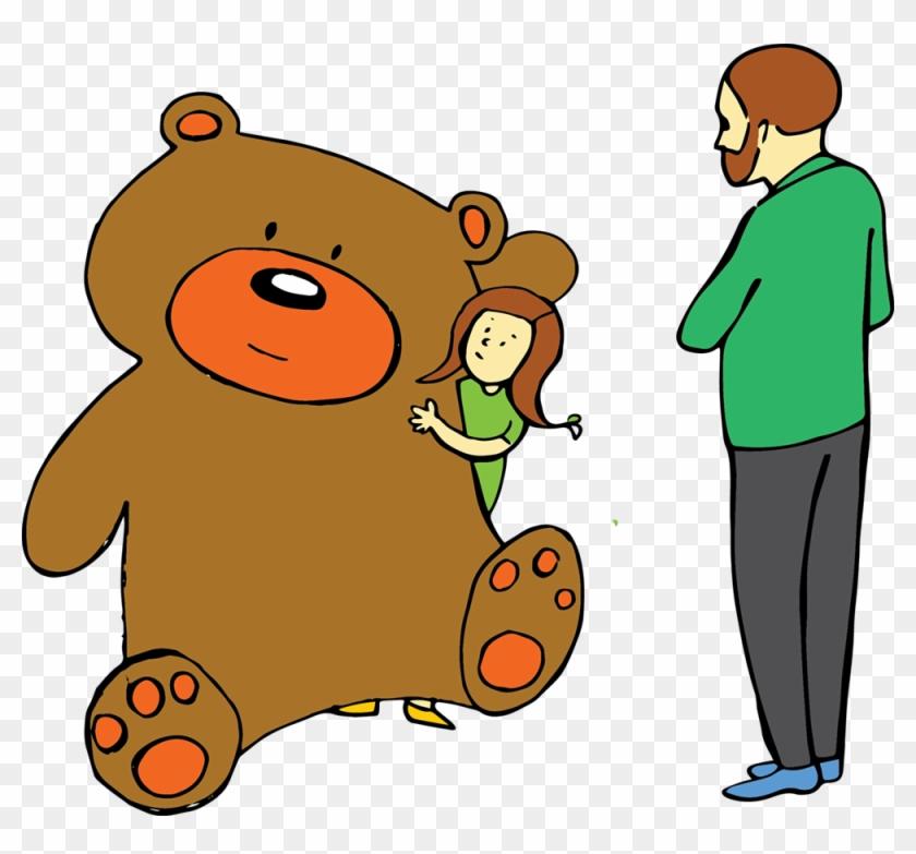 Messy Room - Teddy Bear #1101431