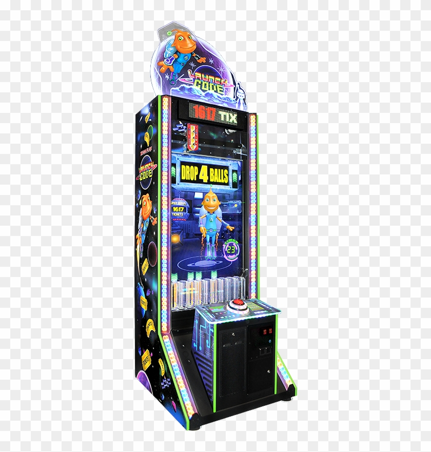 Udc Launch Code Pachinko Type Game With One Button - Launch Code Arcade Game #1102676