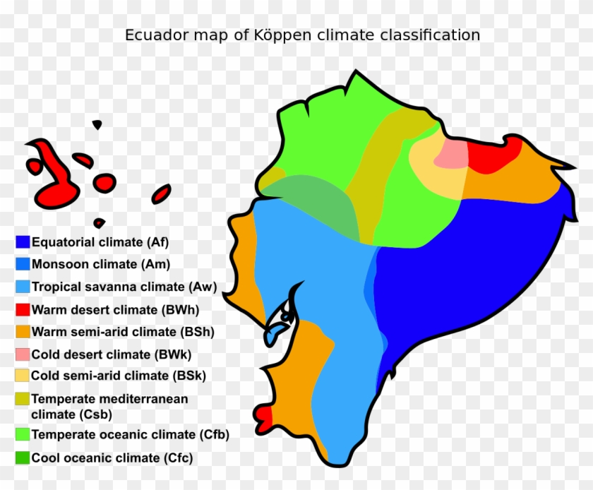Mediterranean Clipart Weather And Climate - Natural Resources In Ecuador #186101